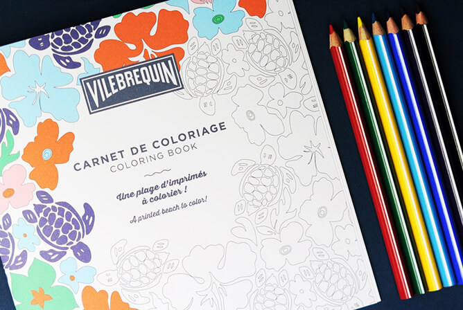 Album da colorare di Vilebrequin