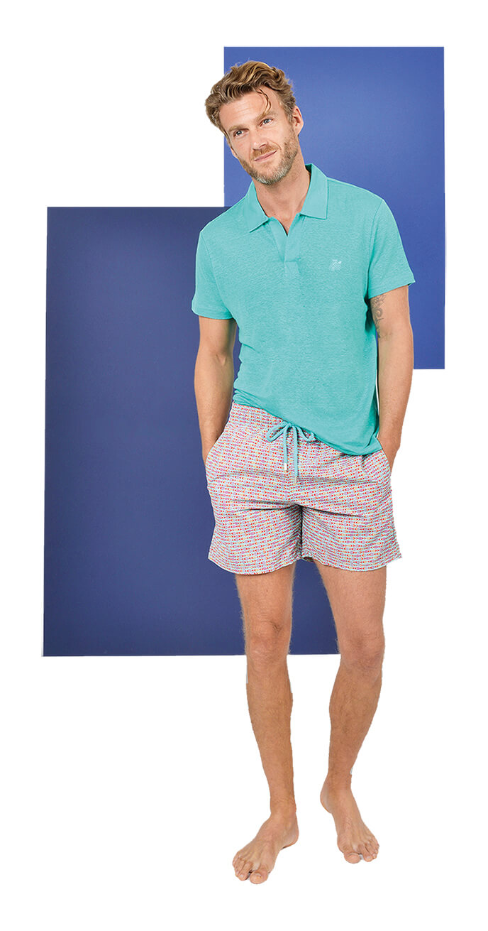 Look 10 - Vilebrequin Cotton Polo