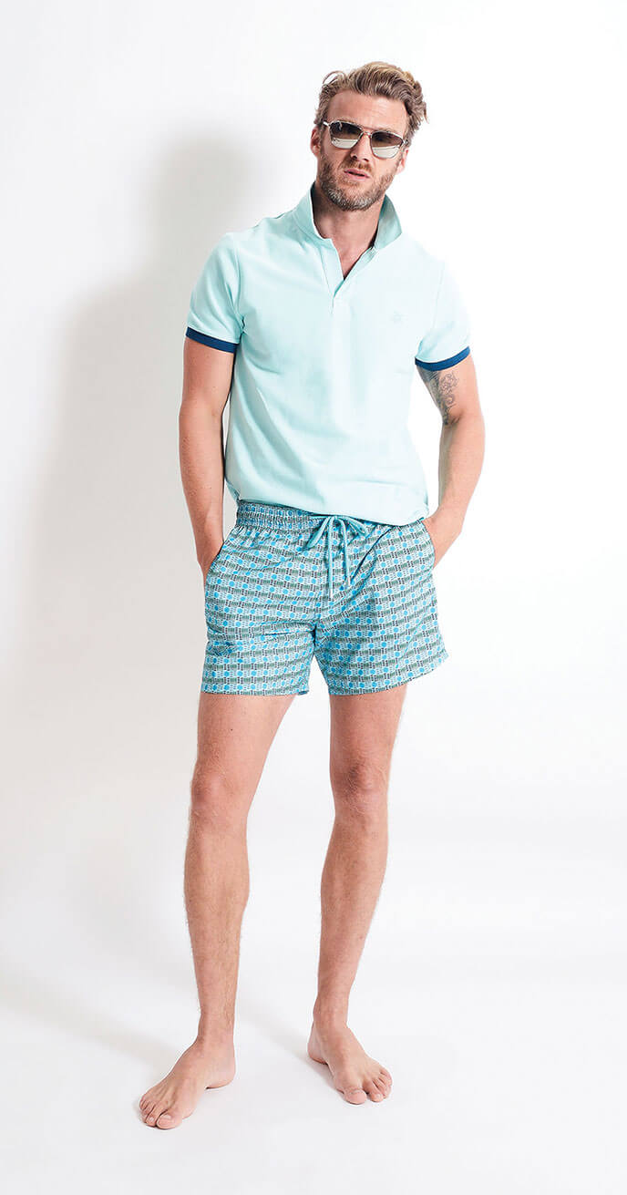 Look 3 - Vilebrequin Cotton Polo