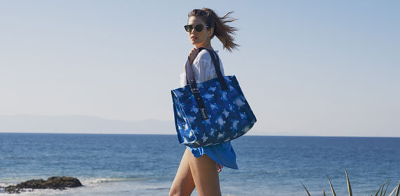 Women's beach bags, pouch and beach case Vilebrequin