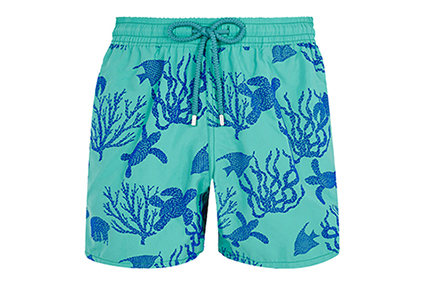 Moorea men's turtle print swim shorts