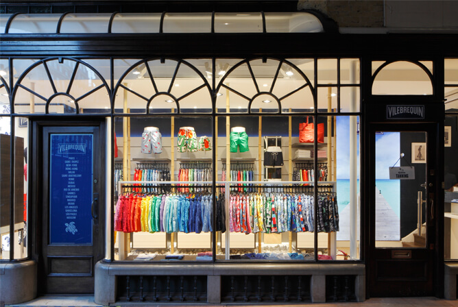 Burlington Arcade boutique