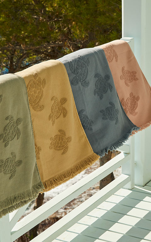 Men's beach towel