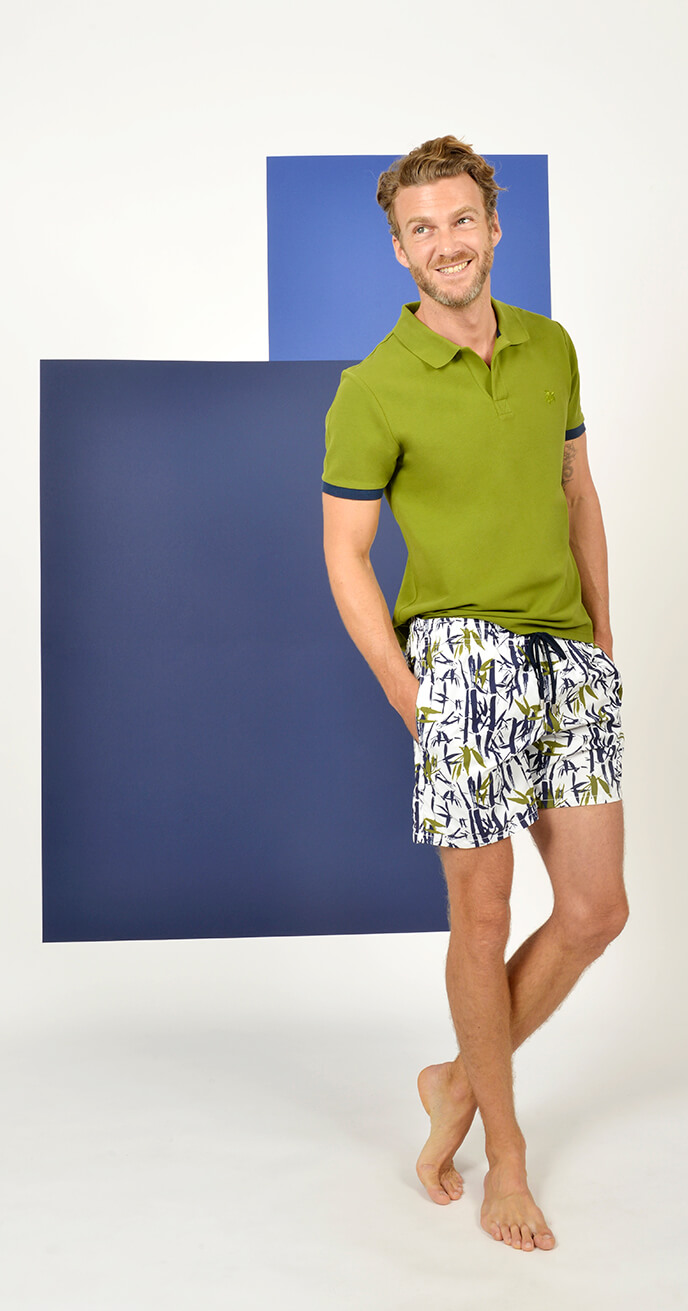 Look 12 - Vilebrequin Cotton Polo