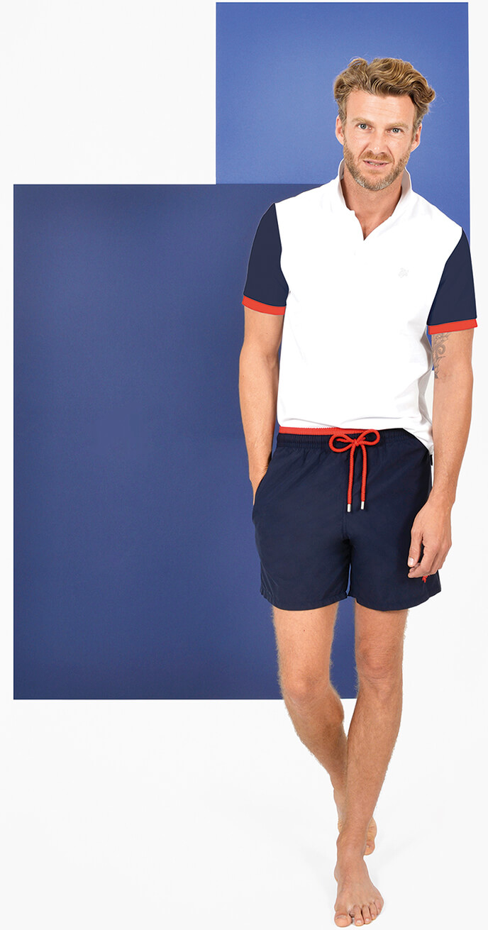 Look 11 - Vilebrequin Cotton Polo
