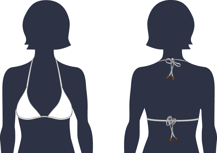 women swim TRIANGLE