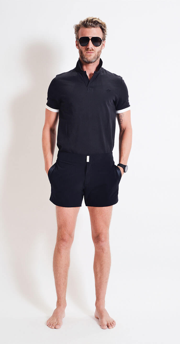 Look 2 - Vilebrequin Cotton Polo