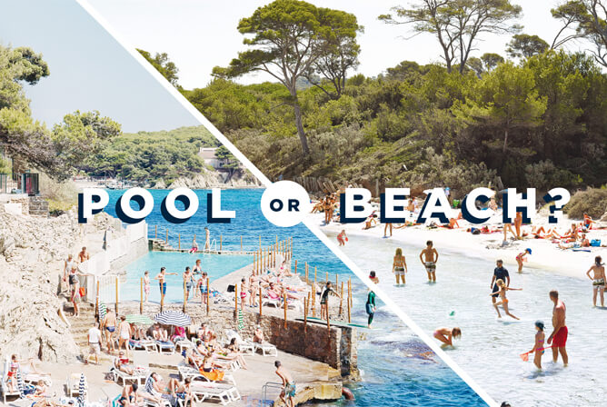 POOL OR BEACH?