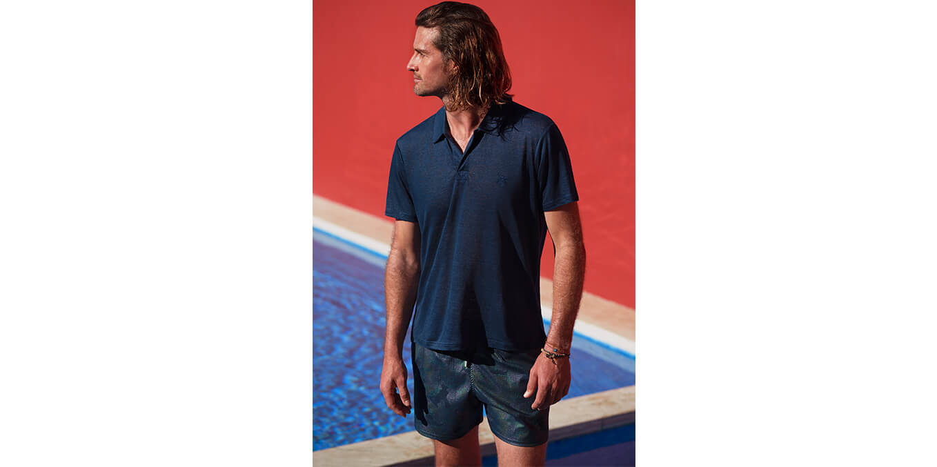 Men swimewear Prince of Wales Vilebrequin