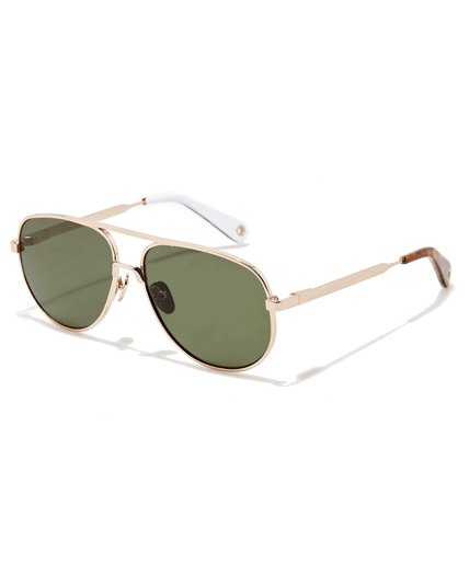 Vilebrequin, Sunglasses Gold Metal