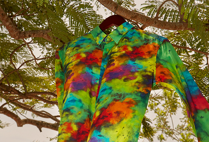 Colorful, light men shirts ideal for summer
