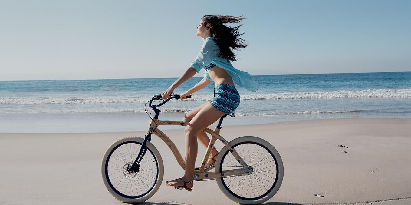 Beach Cruise bike lifestyle women