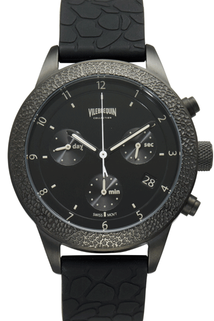 Turtle Scales Chrono - Black