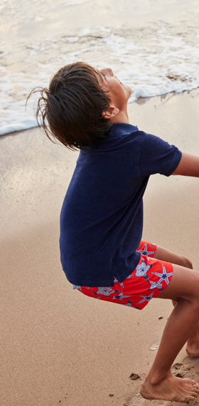 Swimwear for boys, holidays clothing, summer accessories Vilebrequin