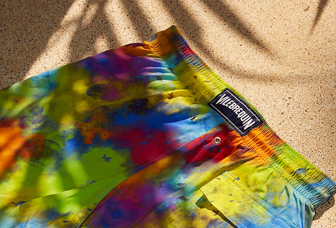 Colorful men swimwear