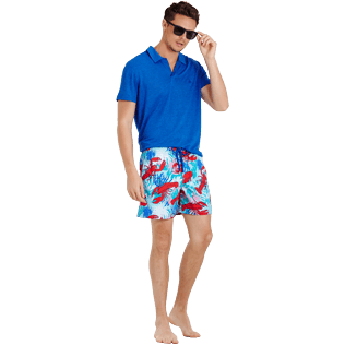 Men Classic Printed - Men Swim Trunks Homards & Coraux, Medicis red supp2