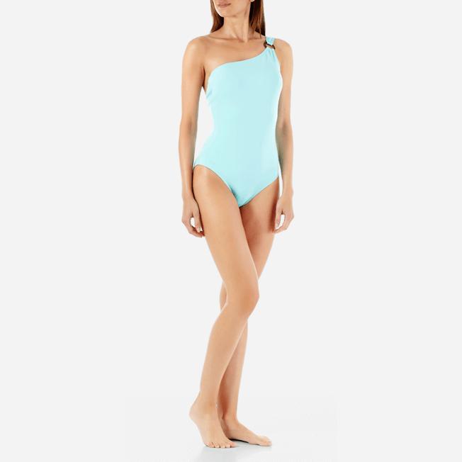 Vilebrequin - Maillot de bain Une pièce Asymétrique Femme Solid Water - 2