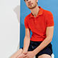 Men Others Solid - Men Terry Cloth Polo Shirt Solid, Medlar supp2