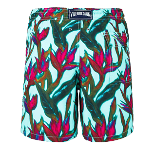 Men Classic / Moorea Printed - Men Swimwear Paradise 3D, Lagoon back