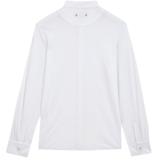 Men Others Solid - Jersey Tencel Men Shirt Solid, White back