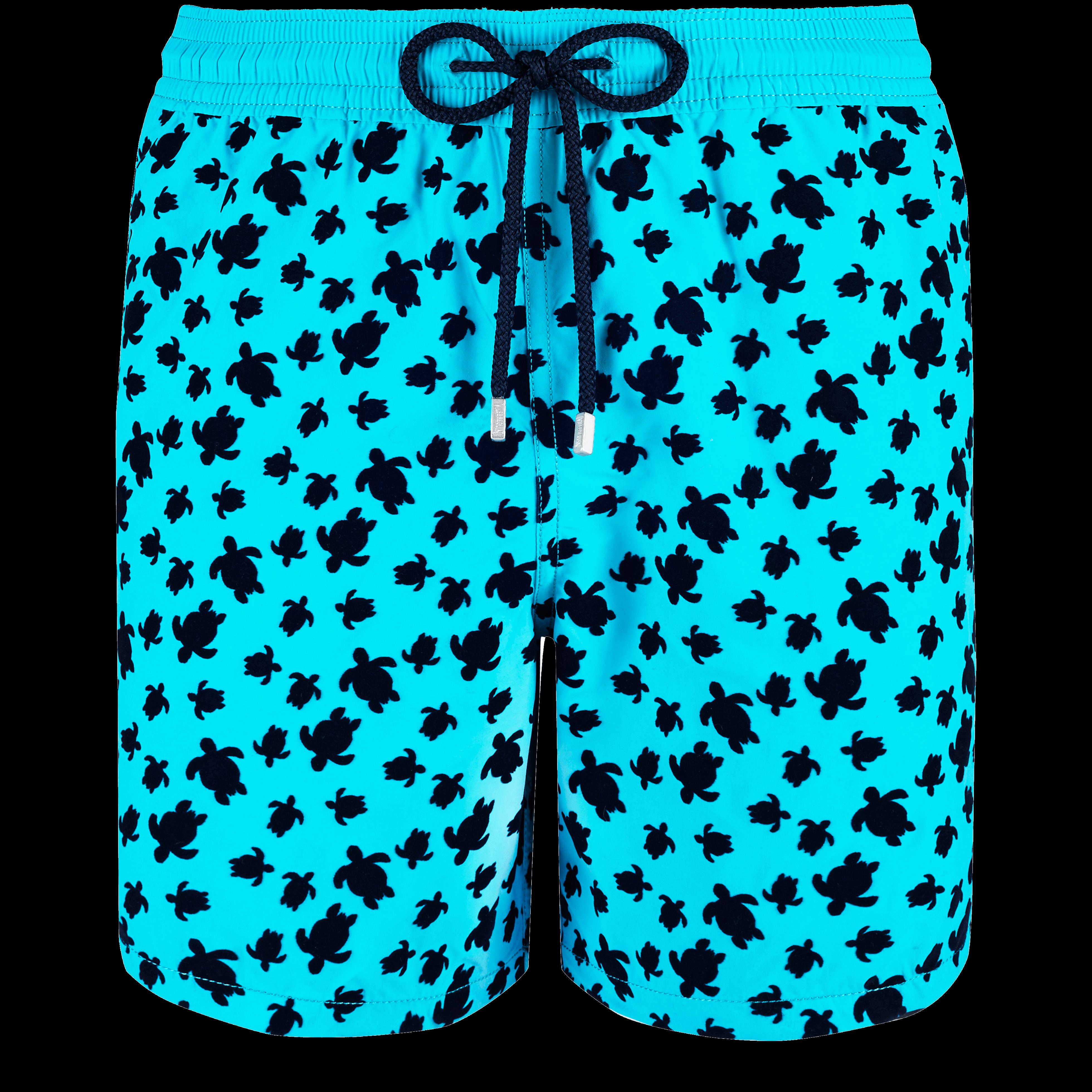 a94650f1cd3fd Vilebrequin Men Swimwear - Men Swimwear Flocked Micro Ronde Des Tortues -  Swimwear - Moon In