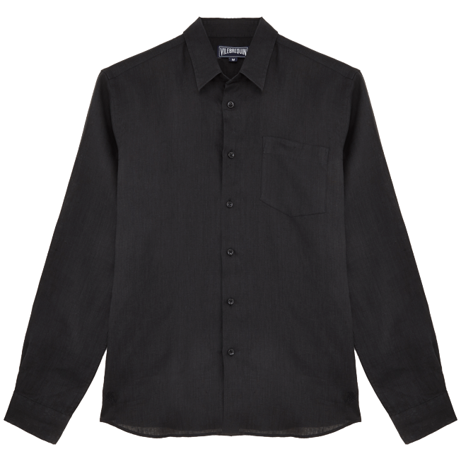 Vilebrequin - Men Linen Shirt Solid - 1
