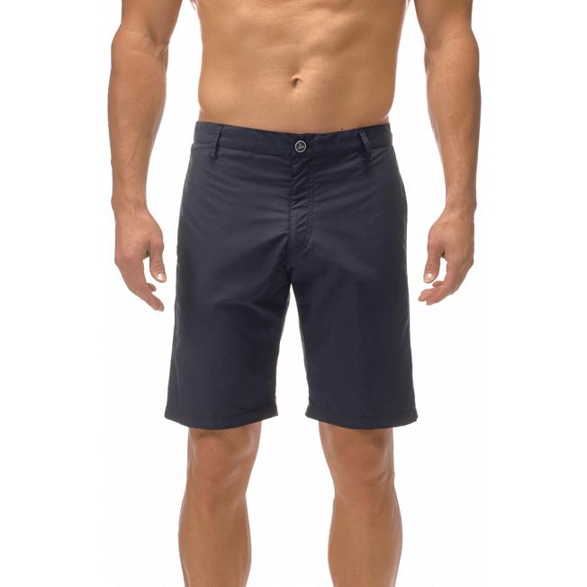 Vilebrequin - Bermudas rectas en tejido de bañador con estampado liso para hombre - 6
