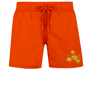 Boys Others Embroidered - Boys Swimwear Crackers, Medicis red front