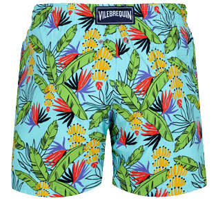 男款 Stretch classic 印制 - Men Swimwear Stretch Go Bananas, Lazulii blue back