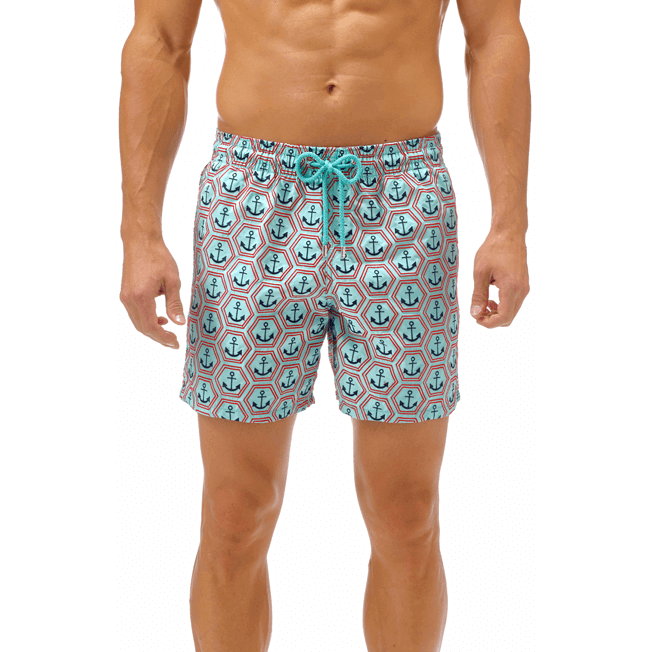 Vilebrequin - All Over Anchor Embroidery Swimwear - 6