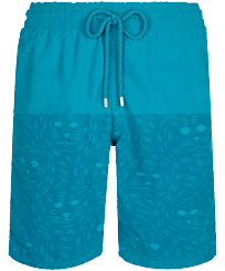 Hombre Clásico largon Mágico - Men Swimwear Long Bengale Tigers Water-reactive, Azurin front