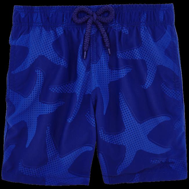 Vilebrequin - Maillot de bain Garçon Aquaréactif Starfish Art - 3