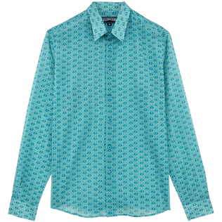 Others Printed - Unisex Cotton Shirt Ancre De Chine, Seychelles front