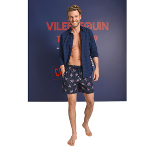 Men swimwear Palm Beach Look,  front
