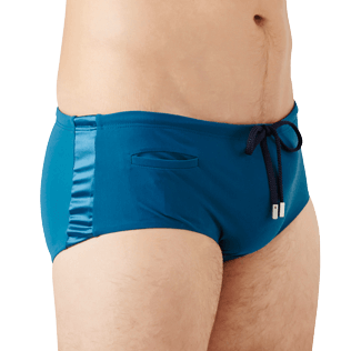 Men Fitted Solid - Men Fitted Swim briefs Tuxedo, Spray supp1