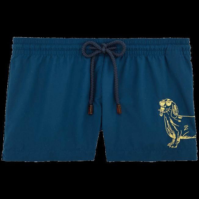 Vilebrequin - Sunny Dog Embroidered Shorty - 1