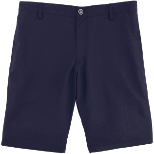 Men Others Solid - Men Straight Swimwear fabric Bermuda Shorts Solid, Navy front
