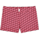 Frauen Shorties Bedruckt - Micro Turtles Hawaï-Stretch-Shorts, Rosa front