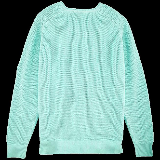 Vilebrequin - Men Cotton Linen Pullover Solid - 2