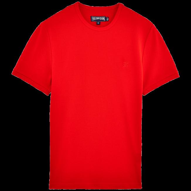 Vilebrequin - Cotton Piqué Solid Tee-Shirt - 1
