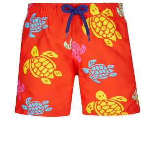 Boys Others Printed - Boys Swim Trunks Tortues Multicolores, Medlar front