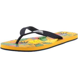 Men Others Printed - Men Flip Flops Go Bananas, Curry back