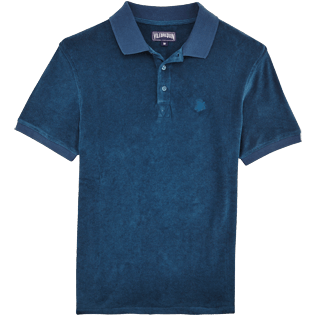 Men Others Solid - Men Terry Cloth Polo Shirt Solid, Spray front