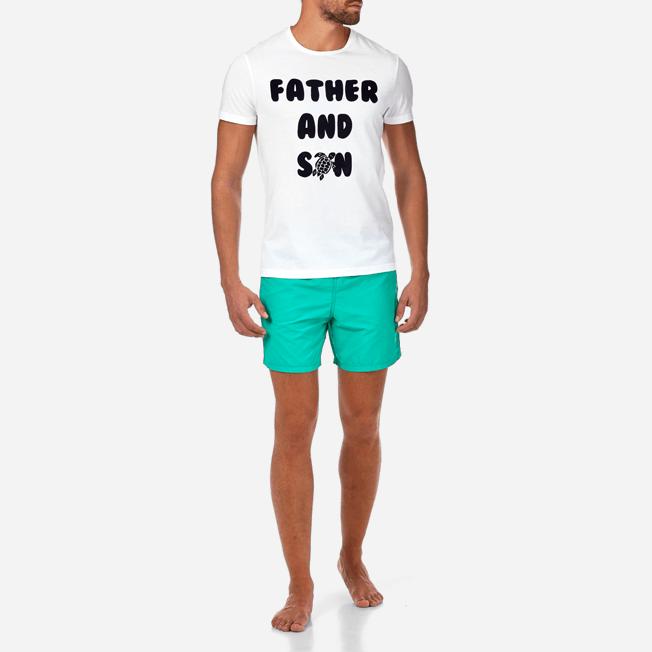 Vilebrequin - T-Shirt col rond Tel père, tel fils - 3