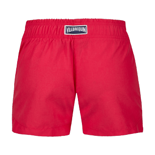 Girls Others Printed - Girls Swim short Tulum, Gooseberry red back