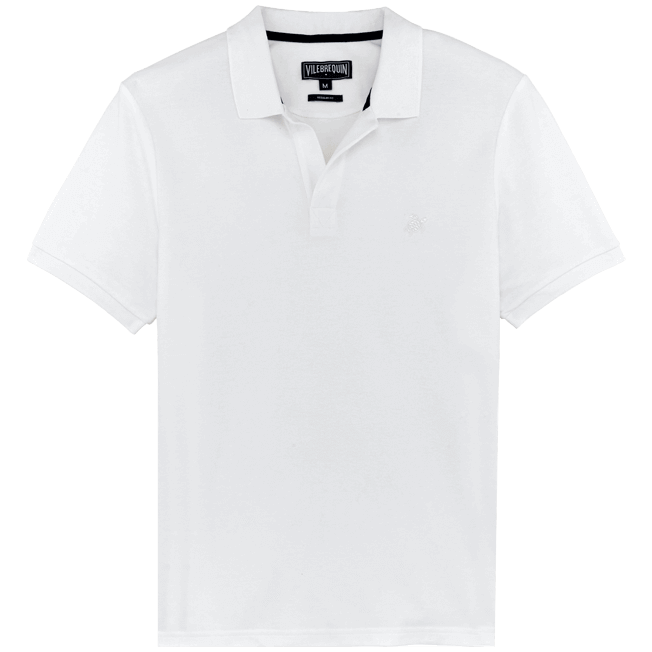Vilebrequin - Men Cotton Pique Polo Shirt Solid - 1