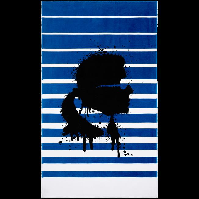 Vilebrequin - Serviette de plage Karl Lagerfeld - 1