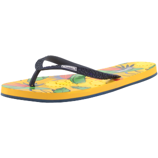 Women Others Printed - Women Flip Flops Go Bananas, Curry back