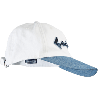 Men Others Solid - Men Baseball Cap Vintage Vilebrequin Logo, White front