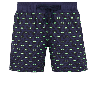 Boys Others Printed - Boys Swimwear Glow in the dark Crabs, Midnight blue front
